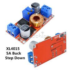 5PCS XL4015 CC CV 5A Step down 5-32V to 0.8-30V Power Supply Charger Buck Module