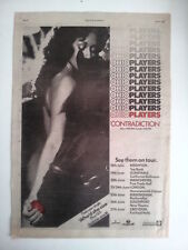 OHIO PLAYERS Contradiction 1976 UK Poster size Press ADVERT 16x12 inches