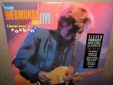 DAVE EDMUNDS BAND LIVE I Hear You Rockin ORIG SEALED LP HYPE 1987 FC-40603 NoCut