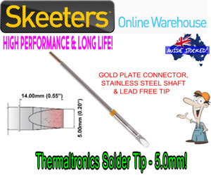Thermaltronics Solder Tip - 5.0mm