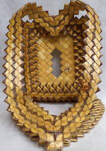 CAMEL CIGARETTE PACK PRISON ART Heart Picture frame TRAMP FOLK Vintage