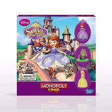 Monopoly Junior Sofia la première marque Neuf Scellé! GRATUIT UK POSTE! 5+ ans Hasbro
