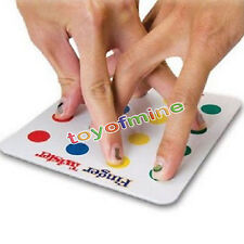 Funny Family Finger Twister Game Board Mini Version Party Kids Educational Toy