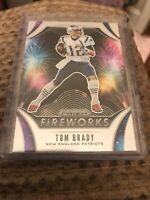2019 Panini Prizm TOM BRADY Fireworks SP Insert FW-TB New England Patriots Bucs