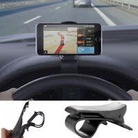 Car Dashboard Mount Holder Stand Clamp Clip Smartphone Car Holder HUD Universal