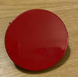 TOYOTA YARIS MK2 FRONT Tow Eye Hook Hole Cover Trim RED 5212752290 (B94)