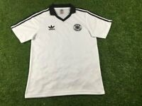 1980 Germany home Retro Soccer Jersey