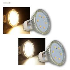 """GU10 LED Strahler Leuchtmittel """"ET-10"""" 3W warmweiß / daylight Birne Spot Lampe"""