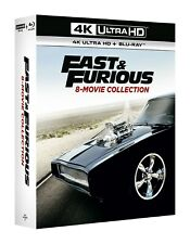 Fast & Furious: 8 Movie Collection (4K Ultra HD + Blu-ray) [UHD]