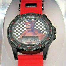 Five Nights at Freddy's Childs LCD Wrist Watch Red Black Freddy Fazbear