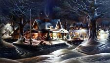 """Terry Redlin """"His Last Goodbye"""" Signed and Numbered Print 32"""" x18.5"""""""