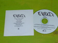 P.O.D - SATELLITE - FRENCH ONLY 4 TRACK + DOCUMENTARY PROMO CD!!!!!!!!!!!!