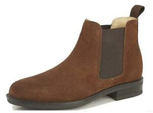 WIDE FITTING SUEDE TAN BROWN FULFIT BOOTS
