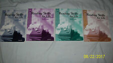 Reading Skills for Life, Teacher's Guides Levels B, C, D, and E (Set of 4)