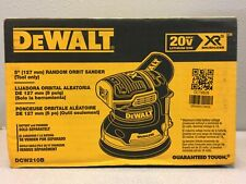 """DeWalt DCW210B 20V MAX XR 20 v Cordless 5"""" Brushless Orbit Sander Tool Only"""