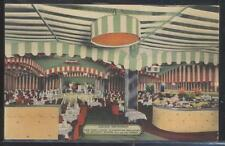 Postcard NEW YORK NY  Iceland Scandinavian Restaurant Interior view 1930's