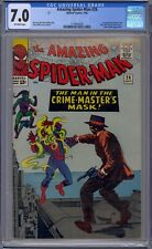 AMAZING SPIDER-MAN #26 CGC 7.0 1ST CRIME-MASTER
