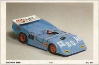 "Carrozzeria Body RC 1/8 VINTAGE ""CHEVRON BMW""- STORICA + ALETTONE passo 295mm"