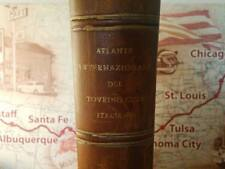 International Atlas of the Italian Touring Club 1st Edition 1927 Atlante Italia