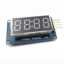 2PCS 4Bits Digital Tube LED Display Module With Clock Display TM1637 for Arduino