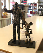 Disney Parks Walt Disney and Mickey Mouse Partners Statue Figurine Ornament New