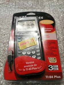 Texas Instruments TI-84 plus calculatrice graphique Neuf version avancé TI-83