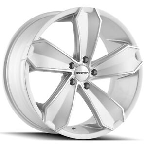 "Touren TR71 20x8.5 5x120 +20mm Silver Wheel Rim 20"" Inch"