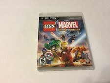 LEGO Marvel Super Heroes Sony PlayStation 3 PS3 Complete Disc, Case & Manual