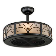 "21"" New Bronze 4 Light Indoor Ceiling Fan with Light Kit"