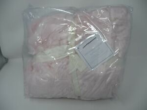 Pottery Barn PInk Faux Fur Anywhere Chair Slip Cover regular
