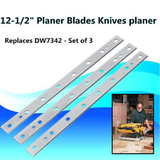 "3PCS 12-1/2"" High-speed Steel Planer Blades For Dewalt DW734 DW7342 Replacement"
