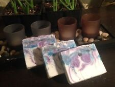 """Homemade Soap: Lovely  Lavender w/ Shea Butter """"Great for Christmas Gifts"""""""