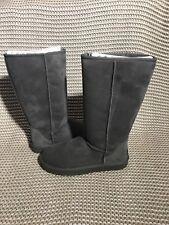 UGG Australia Classic Tall Grey Gray Suede Sheepskin Boots Size US 7 Women