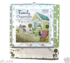 2017 Family Organiser Calendar Planner One Month to View Wipe off Pen and Note Any 1 Random Design 3591