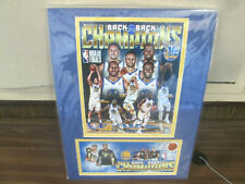 Back 2 Back Champions Golden State Warriors  FRAMED ART & CACHE -Limited Edition