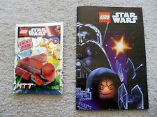 LEGO Star Wars - Rare - 911616 MTT foil pack set w/ Instructions