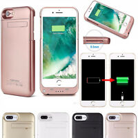External Power Bank Battery Backup Charging Charger Case Cover for iPhone X 8 7