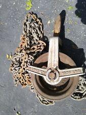 Craftsman 1000 Pound 12 Ton Chain Hoist Pulley With Chain