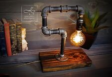 """The """"Thinker"""" Lamp Vintage Modern Home/Office Light Edison/Unique table man gift"""
