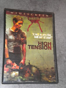 DVD zone 1 HIGH TENSION (Haute Tension) Import US