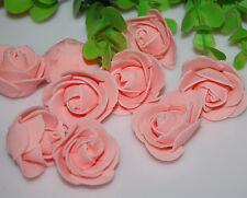 76pcs MIXED ROSE MULBERRY PAPER FLOWER ARTIFICIAL CRAFT SCRAPBOOK WEDDING 1.5cm