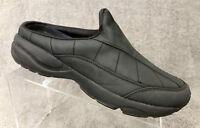 Etonic DRX 1001 Black Slides Clogs Mules Slip On Nurse Shoes Women's Size 10 B