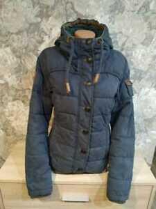 Naketano Women's winter   jacket  blue color size  M