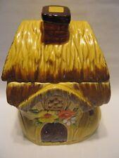Vintage 1950's Japan Shoe House Ceramic Cookie Jar