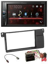 Pioneer MP3 2DIN USB AUX Bluetooth Autoradio für BMW 3er E46 Quadlock großem Nav