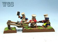 25mm Warhammer Fantasy WGS painted The Empire Imperial Halfing Hot Pot TE039