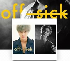 TAEMIN SHINEE 1st SOLO CONCERT OFF-SICK OFFICIAL GOODS POSTER SET NEW