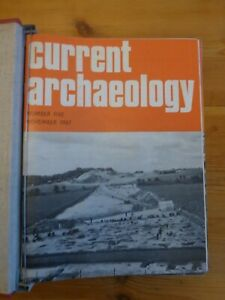Current Archaeology magazines, 12 issues in binder, from 1967-72