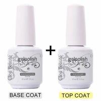 Base and Top Coat Gel UV Nail Polish Long Lasting Nail Primer Gel UV Lamp Salon