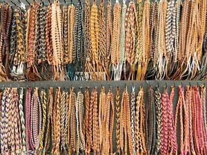 Leather bracelets 20pc school leavers class teacher friend gift wholesale joblot